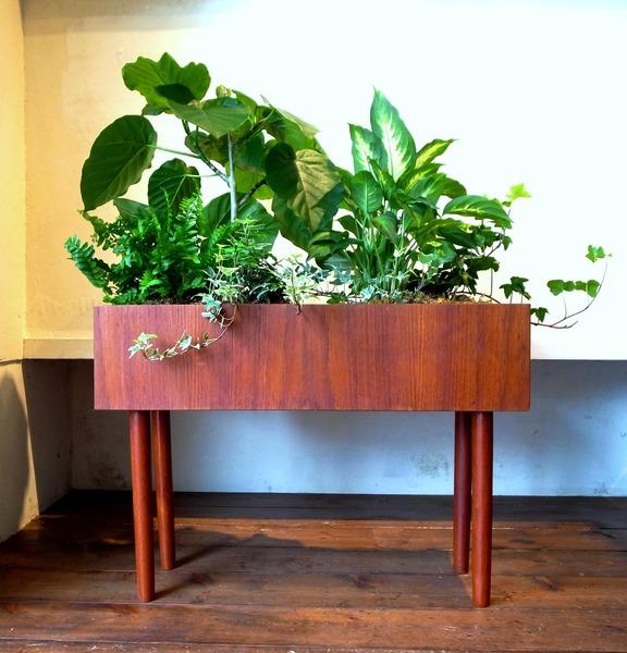 Teak Planter Box