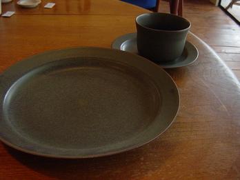 """yumiko iihoshi porcelain """"OXYMORON"""" plate-L"""