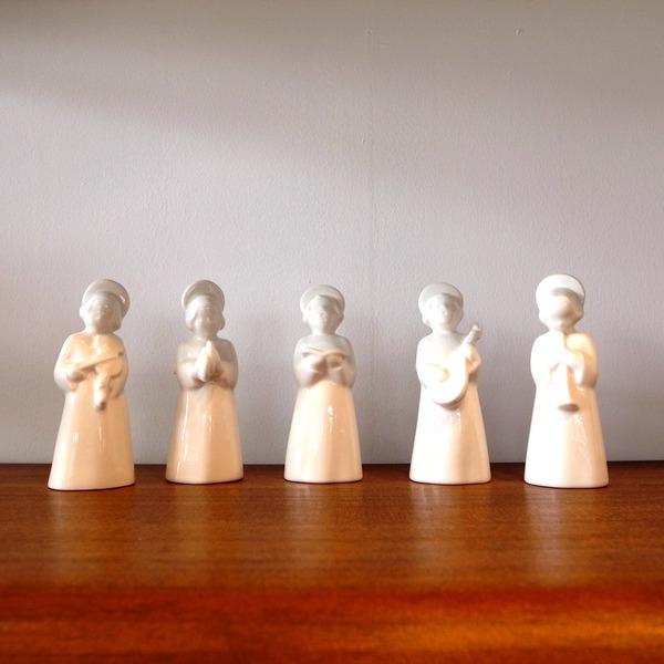 Royal Copenhagen  Little white angels