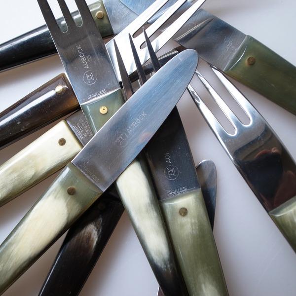 Cutlery by Carl Aubock