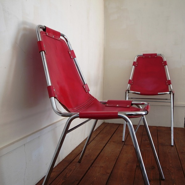 "Les Arcs Side Chair ""Rouge"""
