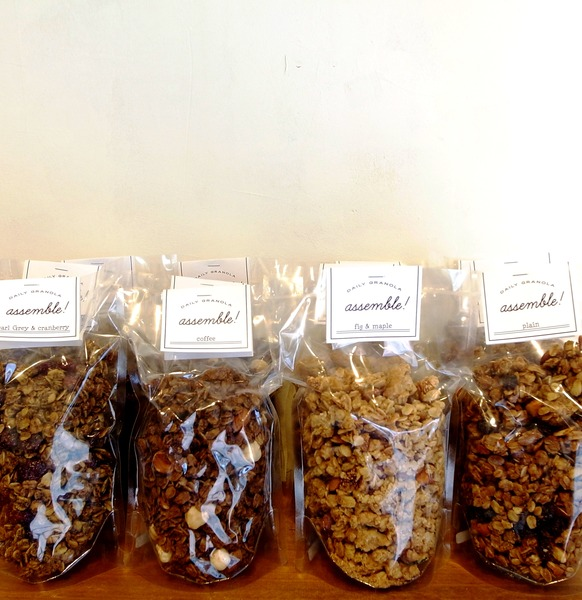 assemble DAILY GRANOLA