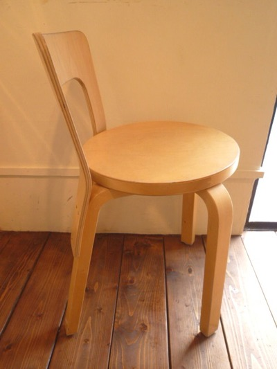 artek alvar aalto vintege chair No,65-3