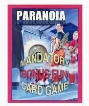 パラノイア PARANOIA カードゲーム 日本語版 ホビーベース イエローサブマリン