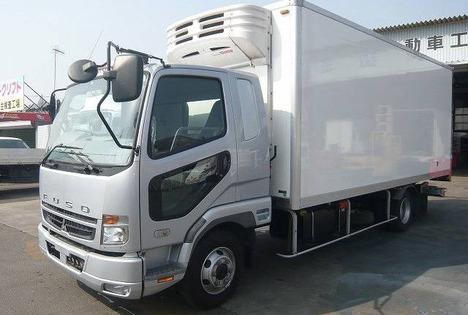 三菱 トラック 冷凍車
