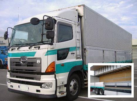 日野の大型トラック