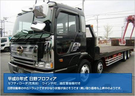 日野 中古トラック (プロフィア)