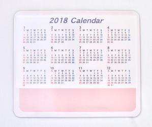 2018カレンダーマウス