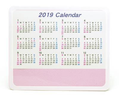 2019カレンダーマウス