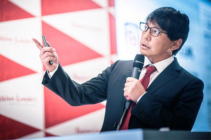 2月の全国定例会は相川理事が「三方良し」経営を熱く語りました