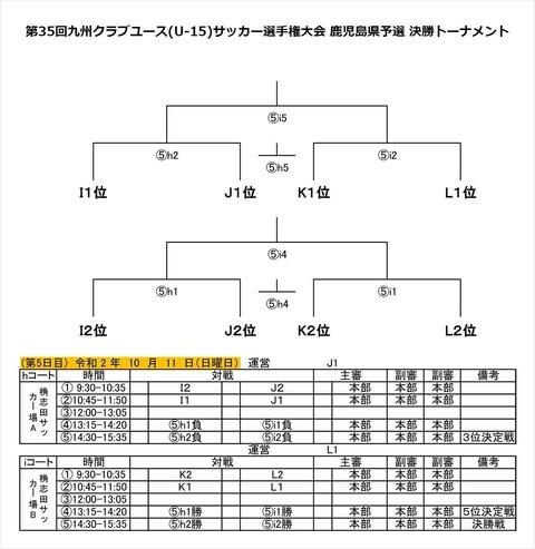 九州クラブユース_鹿児島県予選_決勝トーナメント