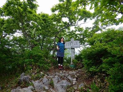 池ノ段へ (3)立烏帽子山