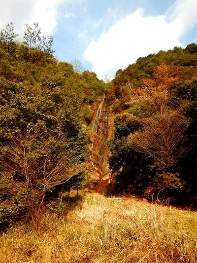 妹背の滝 (2)雌滝