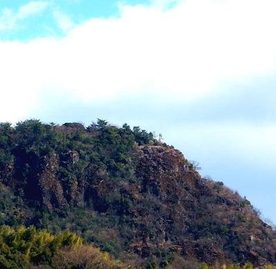 鯛ノ峰の断崖