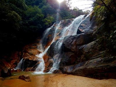 妹背の滝 (3)雄滝