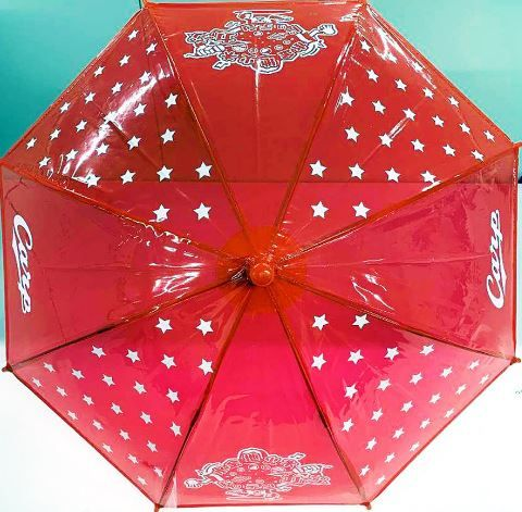 広島が今季もヤクルト戦で「赤傘」配布
