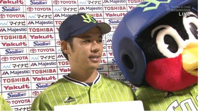 小川泰弘(ヤ) 5試合 防御率1.56 3勝2敗 34.2回 32奪三振
