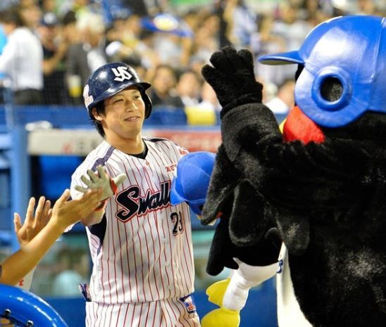 山田(22) .307 15本 40打点 57得点 12盗塁 OPS.937