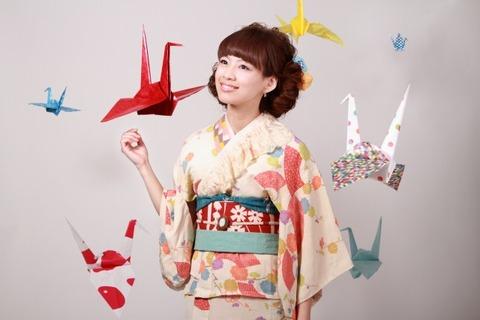 Kimono girl with Crane_0002