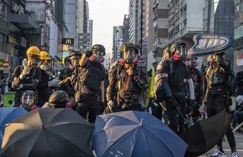 香港覆面禁止