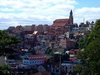 首都アンタナナリボの街