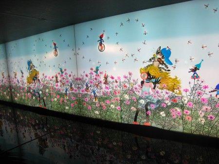影絵作家 藤城清治さんの自宅スタジオでの展覧会