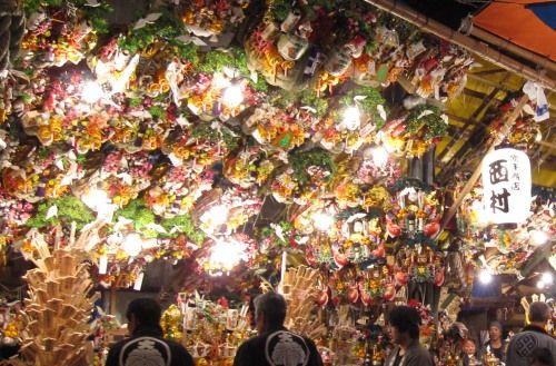 目黒の大鳥神社の酉の市