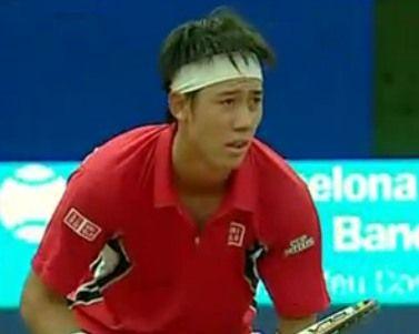 バルセロナオープンテニス2回戦で錦織圭が勝利