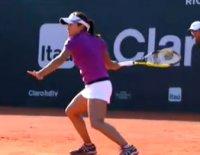 リオ・オープンのシングルス決勝戦で奈良くるみが勝利 WTAツアー初優勝