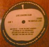 キャバンクラブのアップルレコードのコースター