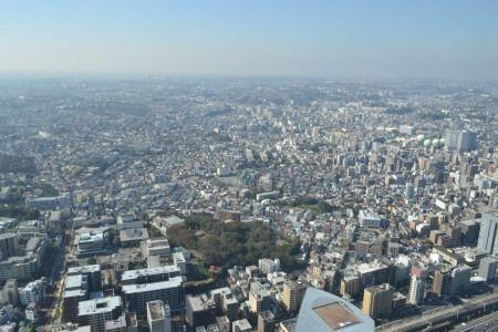 横浜ロイヤルパークホテル 中国料理 皇苑からの眺め