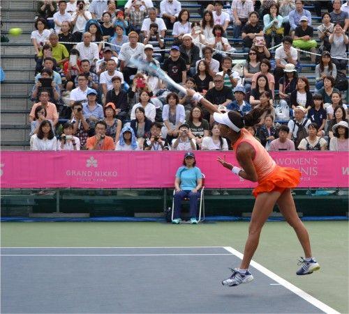 有明のジャパンウイメンズオープンテニス 伊達公子