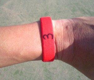 テニスの順番忘れ対策バンド