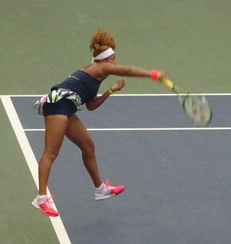 東レ パン・パシフィックオープン・テニス シングルス2回戦 大坂なおみが勝利 準々決勝へ