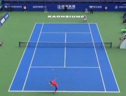 高雄チャレンジャーテニス決勝で、添田豪が伊藤竜馬に勝ち優勝