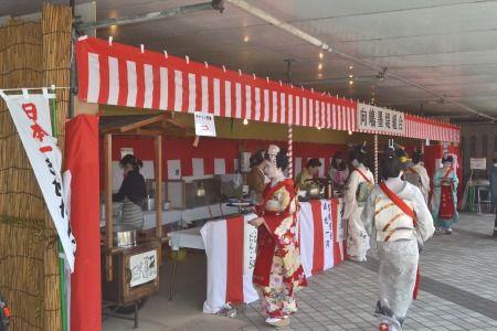 向島芸者さんの茶店