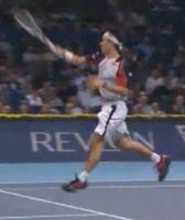 スイスのバゼルのインドアテニス大会で錦織圭がノヴァーク・ジョコビッチを破り決勝へ