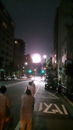 神宮外苑の花火大会