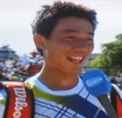 錦織圭 全仏オープン初戦勝利