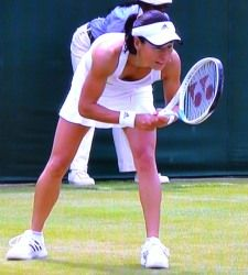 ウィンブルドン テニス シングルス2回戦 クルム伊達公子が勝利