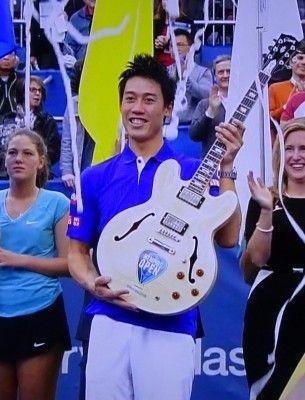 メンフィス・オープンのシングルスで錦織圭が優勝し、四連覇を達成