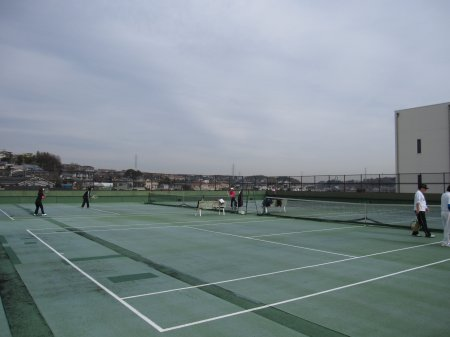 成瀬クリーンセンターテニスコート
