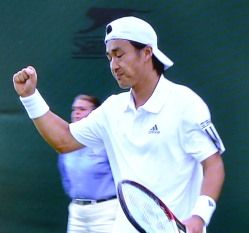 ウィンブルドン テニス シングルス一回戦 添田豪が勝利
