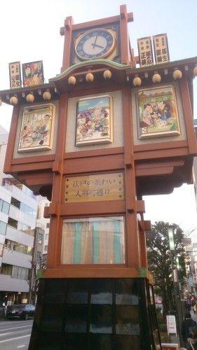 人形町のからくり櫓