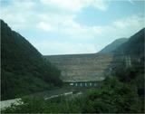 御母衣ダム (みほろダム) 日本初の大規模ロックフィルダム