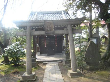 三囲神社 恵比寿神、大国神