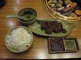 ろぐ亭 プリンス亭の焼肉とステーキ