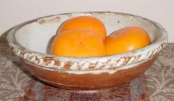 陶芸作品 果物入れ