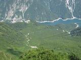 大観峰から黒部第4ダムを眺める