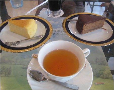 麺茶寮ウィステリア ケーキセット